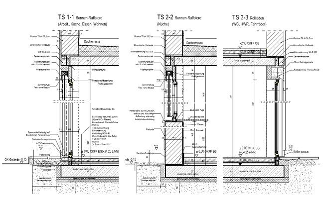 angelika tosic zeichnung planung architektur bautechnik autocad. Black Bedroom Furniture Sets. Home Design Ideas